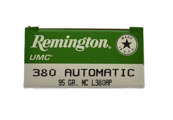 380 ACP Metal Case 95gr. UMC 1
