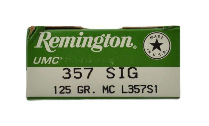 357 SIG Remington MC 125gr. 1