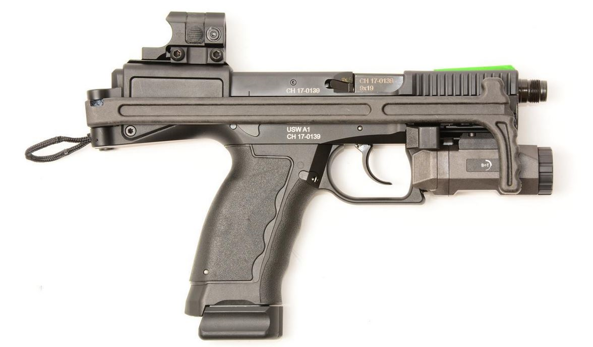 Featured B&T Universal Service Weapon - USW-A1, Kal. 9 x 19 mm